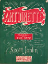 Antoinette Sheet Music Cover