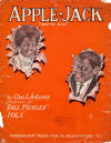 Apple Jack Rag Sheet Music Cover