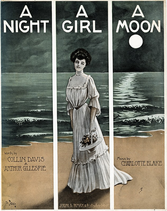 A Night, a Girl, a Moon Sheet Music