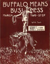 Buffalo Means Business Sheet Music