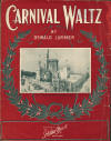 Carnival Waltz Sheet Music Cover