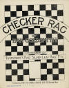 Checker Rag Sheet Music Cover
