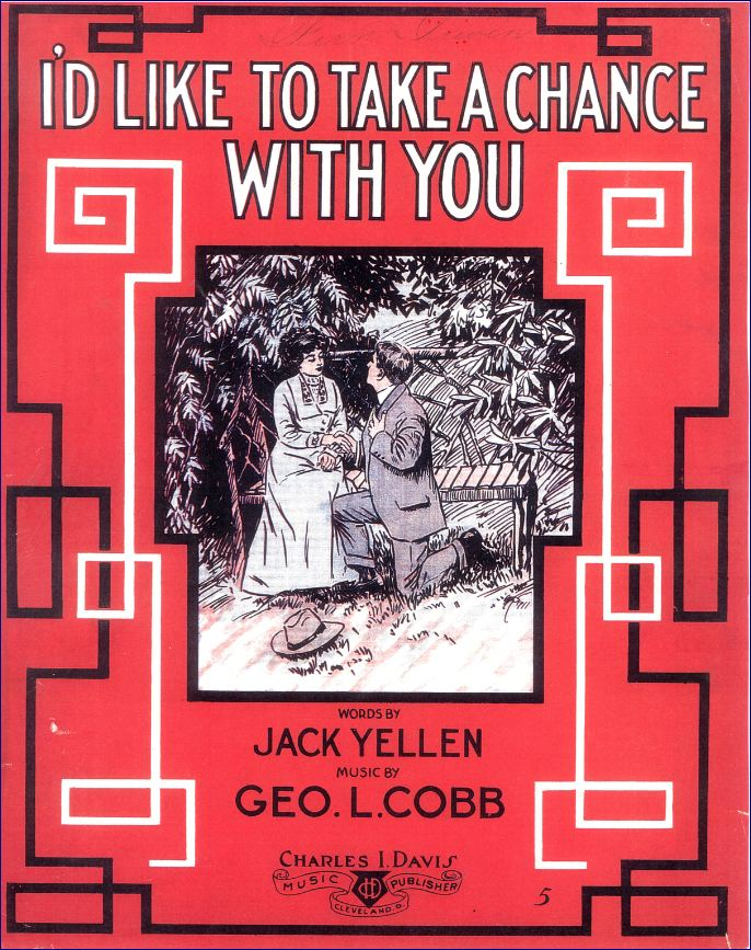 I'd Like to Take a Chance with You