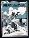 Cotton States Rag Sheet Music Cover