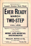 Ever Ready: March Two-Step Sheet