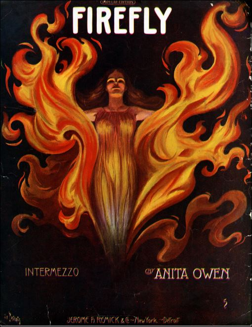 Fire Fly Intermezzo Sheet Music Cover