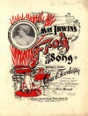 May Irwin's Frog Song Sheet