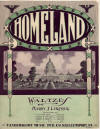 Homeland Waltzes Sheet Music Cover