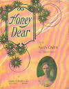Honey Dear Sheet Music Cover