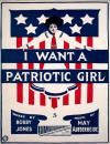 I Want a Patriotic Girl Sheet Music