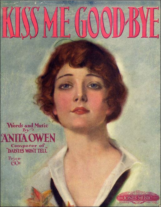 Kiss Me Good-Bye Sheet Music Cover
