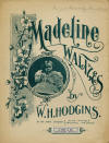 Madeline Waltzes Sheet Music Cover