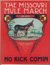 The Missouri Mule March Sheet Music