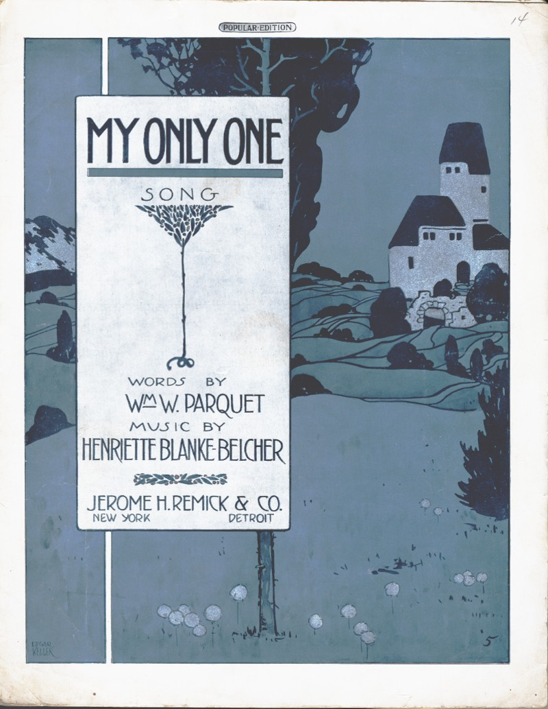 My Only One Sheet Music Cover