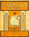 Patocka Waltzes Sheet Music Cover