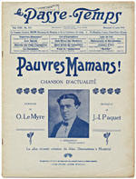 Sample issue of Le passe temps