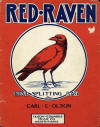Red Raven Rag Sheet Music Cover