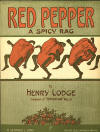 Red Pepper: A Spicy Rag Sheet Music