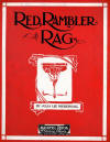 Red Rambler Rag Sheet Music Cover