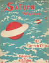 Saturn Waltzes Sheet Music Cover