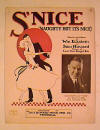 S'Nice Sheet Music Cover