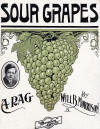 Sour Grapes Rag Sheet Music Cover