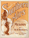 Southern Airs Sheet Music Cover