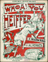 Whoa! You Heiffer Sheet Music
