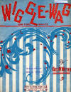 Wiggle-Wag Waltz Sheet Music Cover